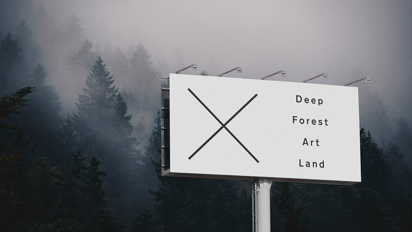 Deep Forest Art Land billboard
